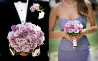 Purple Flowers Bridal Bouquet 7 Desktop Background