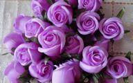 Purple Flowers Bulk 1 Widescreen Wallpaper