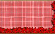Red Flowers Around Christmas 14 Free Wallpaper