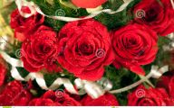 Red Flowers Bouquet 19 Widescreen Wallpaper