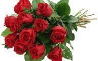 Red Flowers Bouquet 25 Widescreen Wallpaper
