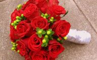 Red Flowers Bouquet 6 Hd Wallpaper