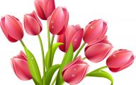 Red Flowers Clipart 4 Free Wallpaper