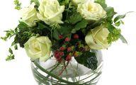 White Flowers At Christmas 26 Desktop Wallpaper