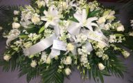 White Flowers At Funeral 12 Free Wallpaper