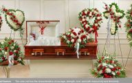 White Flowers At Funeral 4 Free Hd Wallpaper