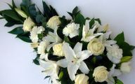 White Flowers For Funeral 19 Background