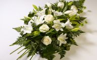 White Flowers For Funeral 26 Widescreen Wallpaper