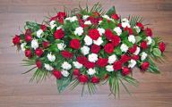 White Flowers For Funeral 3 Background