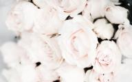 White Flowers Tumblr 1 Widescreen Wallpaper