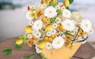 Yellow Flowers Arrangements 22 Cool Wallpaper
