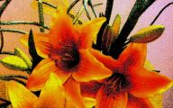 Yellow Flowers Fist 26 Desktop Wallpaper