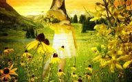Yellow Flowers Of Spring Crossword 39 Desktop Wallpaper