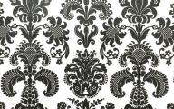 Black And White Floral Wallpaper 13 Wide Wallpaper