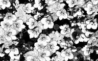 Black And White Flower Backgrounds 6 High Resolution Wallpaper