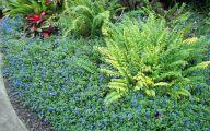 Blue Daze Flowers 9 Wide Wallpaper