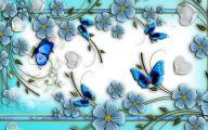 Blue Flowers Hd Wallpapers  3 Widescreen Wallpaper