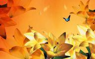 Blue Flowers In Fall  29 Cool Hd Wallpaper