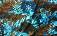 Blue Flowers Jungle  25 Background Wallpaper