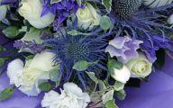 Blue Flowers London  16 Widescreen Wallpaper