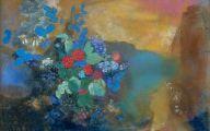 Blue Flowers London  5 Background