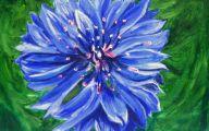 Blue Flowers Painting  18 Free Hd Wallpaper