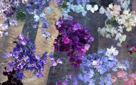 Blue Sweet Peas 9 High Resolution Wallpaper