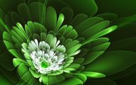 Green Flower Wallpaper 22 Desktop Wallpaper