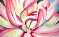 Pink Flowers Canvas  31 Hd Wallpaper