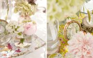Pink Flowers Centerpieces  21 Background