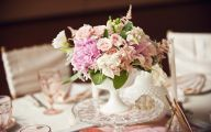 Pink Flowers Centerpieces  3 Free Wallpaper