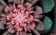 Pink Flowers Clipart  1 Widescreen Wallpaper