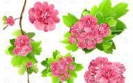 Pink Flowers Clipart  13 Desktop Background