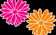 Pink Flowers Clipart  32 High Resolution Wallpaper