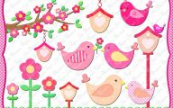 Pink Flowers Clipart  7 Widescreen Wallpaper