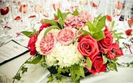 Pink Flowers Decoration  14 Wide Wallpaper
