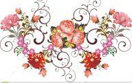 Pink Flowers Decoration  18 Desktop Background