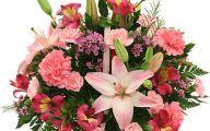 Pink Flowers Delivered  2 High Resolution Wallpaper