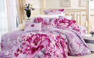 Pink Flowers Duvet Cover  33 Wide Wallpaper