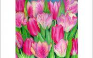 Pink Tulips 13 Desktop Wallpaper