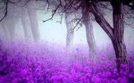 Purple Floral Wallpaper 5 Widescreen Wallpaper