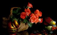 Black Flowers Hd  6 Widescreen Wallpaper
