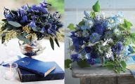 Blue Flowers For Floral Arrangements  8 Wide Wallpaper
