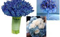 Blue Flowers For Wedding  4 Desktop Wallpaper
