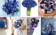 Blue Flowers For Wedding  5 Free Wallpaper