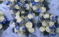 Blue Flowers For Wedding  8 High Resolution Wallpaper