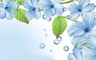 Blue Flowers Hd Wallpapers  37 Background Wallpaper