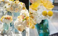 Blue Yellow Flowers Wedding  17 Cool Hd Wallpaper