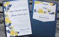 Blue Yellow Flowers Wedding  18 Background