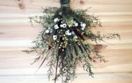 Green Dried Flowers  5 Free Wallpaper